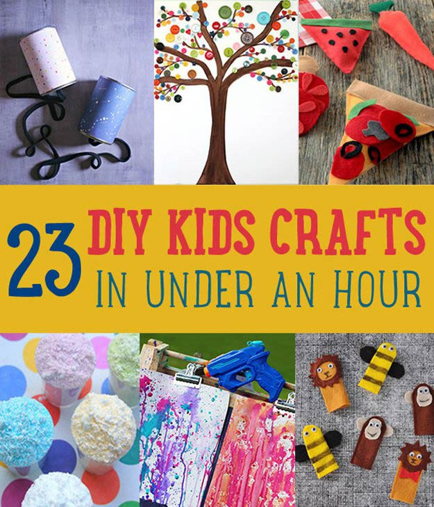 Kids DIY Projects  Projects for Kids DIY Projects Craft Ideas & How To's for