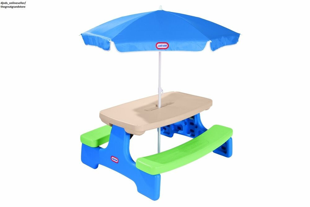 Kids Fold Up Table  Kids Picnic Tables Portable Folding Outdoor Indoor Play