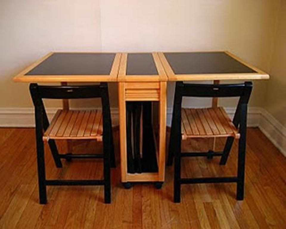 Kids Fold Up Table  Wooden Kids Folding Table and Chair Set
