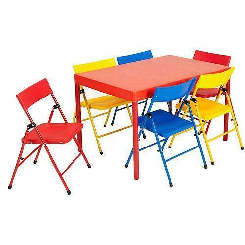 Kids Fold Up Table  Kids Folding Chair