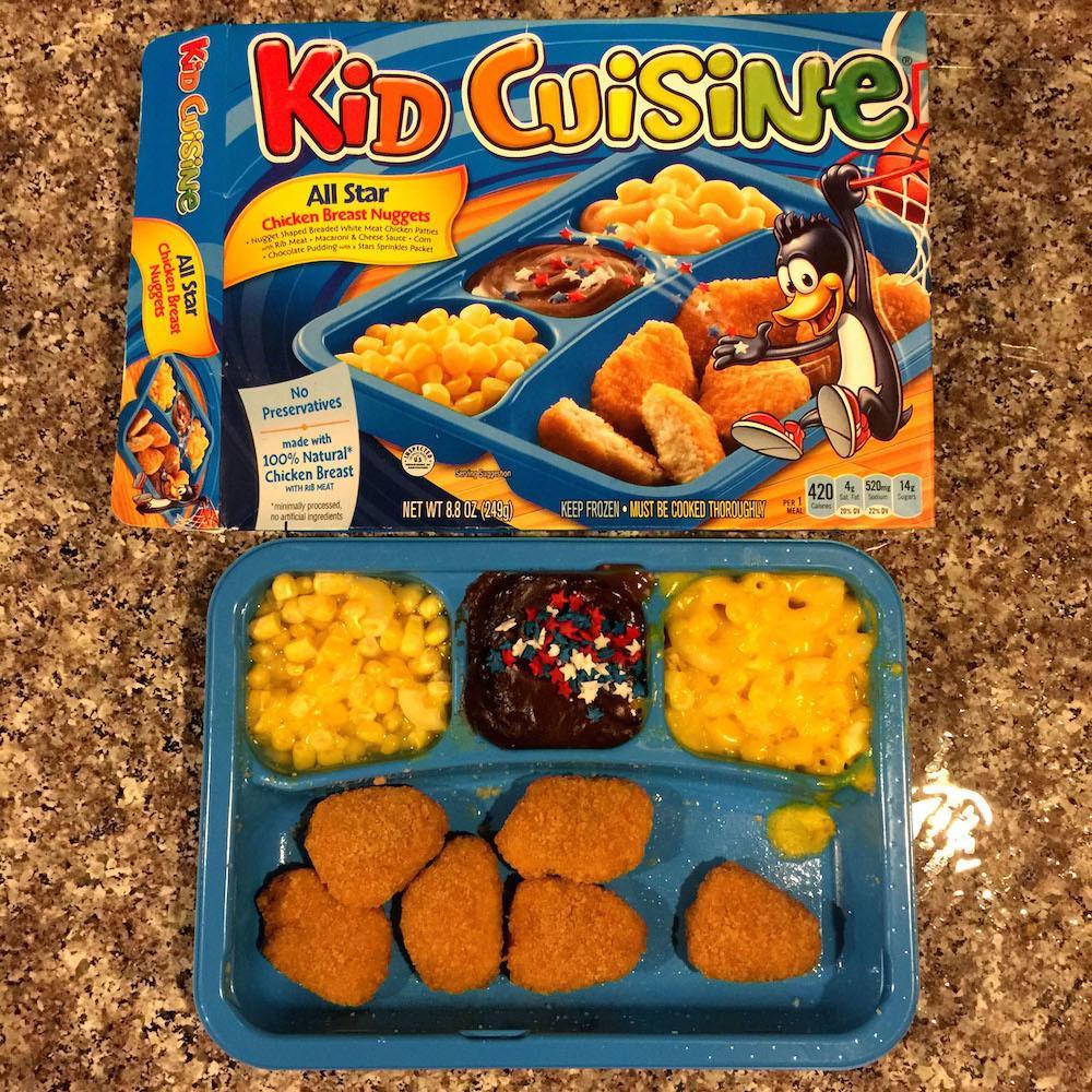 Kids Frozen Dinners  Kids Cuisine All Star Chicken Breast Nug s