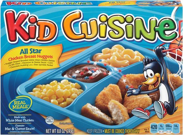 Kids Frozen Dinners  Kid Cuisine TV Dinners Wiki