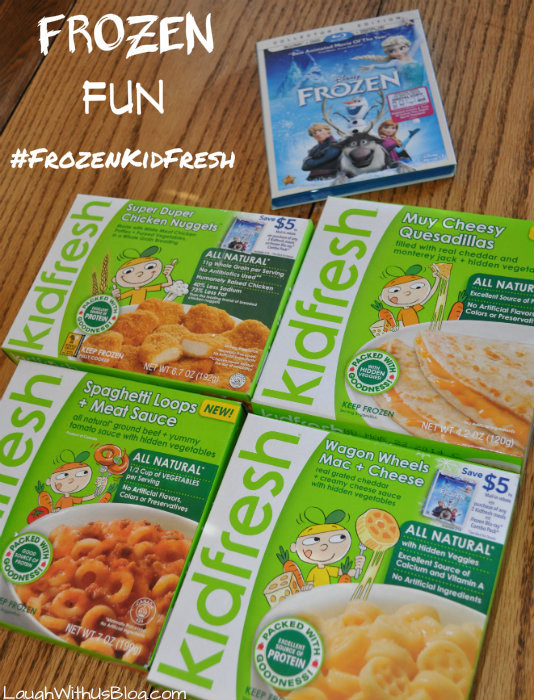 Kids Frozen Dinners  FROZEN tasting party with Kidfresh foods FROZENKidfresh