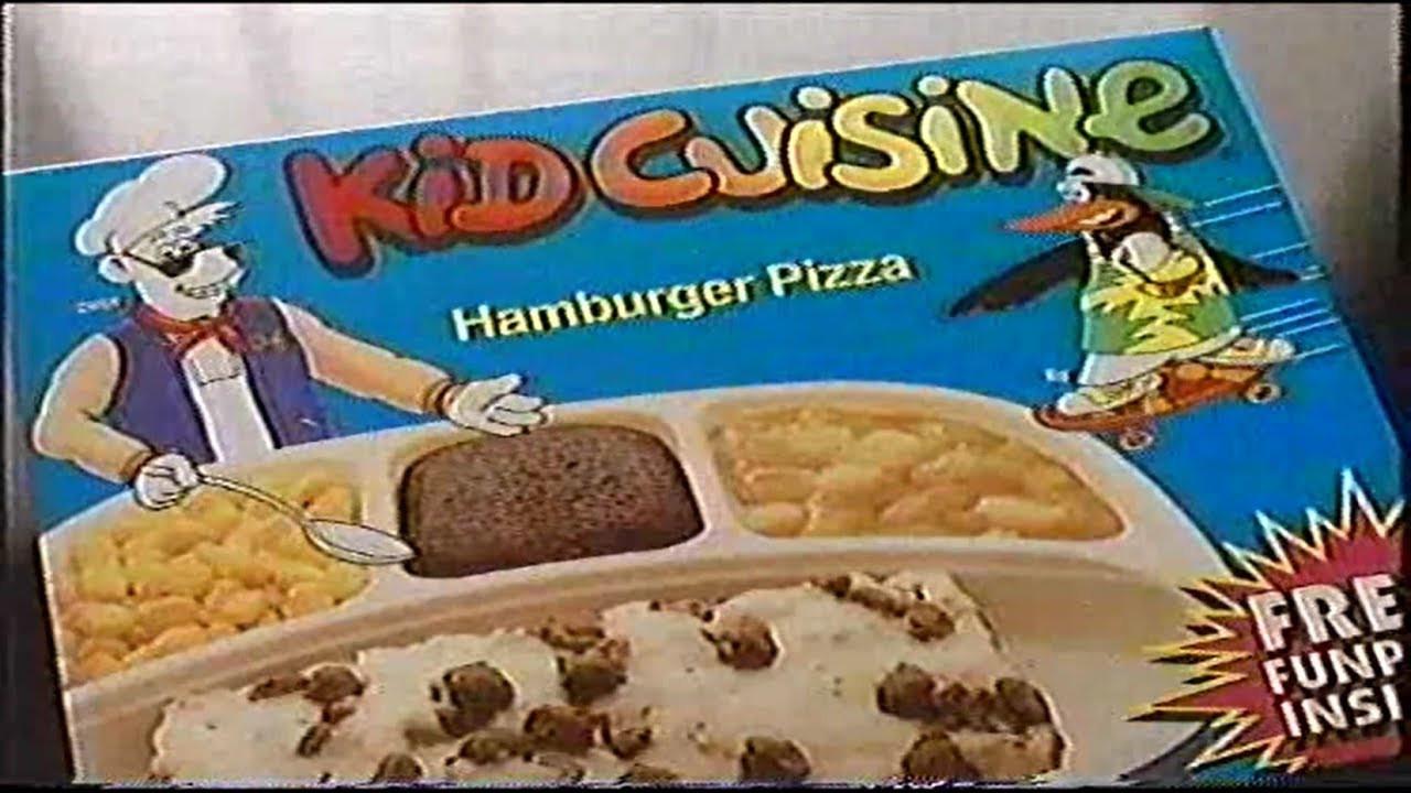 Kids Frozen Dinners  Kid Cuisine Frozen Dinner 90s Era mercial