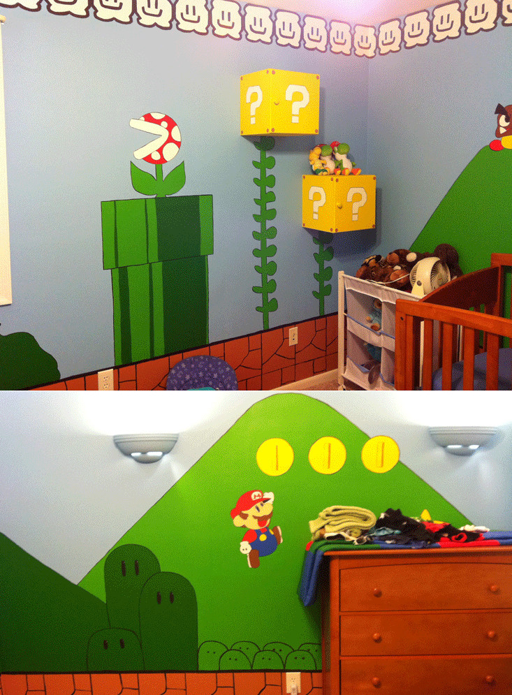 Kids Game Room Furniture  Kids Video Game Themed Rooms Design Dazzle
