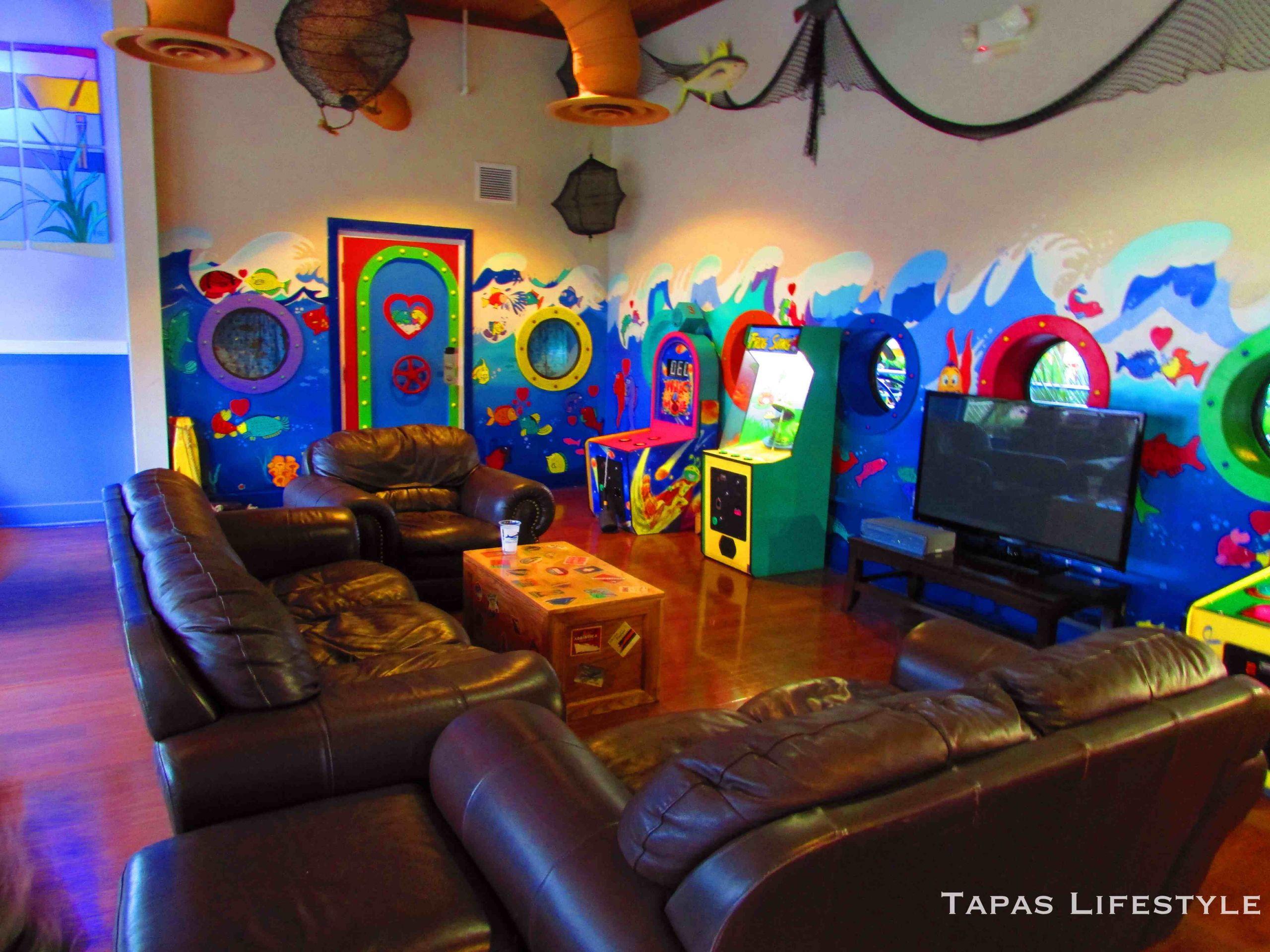 Kids Game Room Furniture  Give Kids The World Inaugural Blogger Bash 2013
