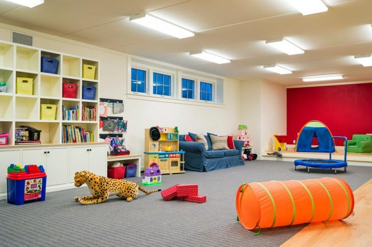 Kids Games Room Ideas  20 Basement Game Room Designs Ideas
