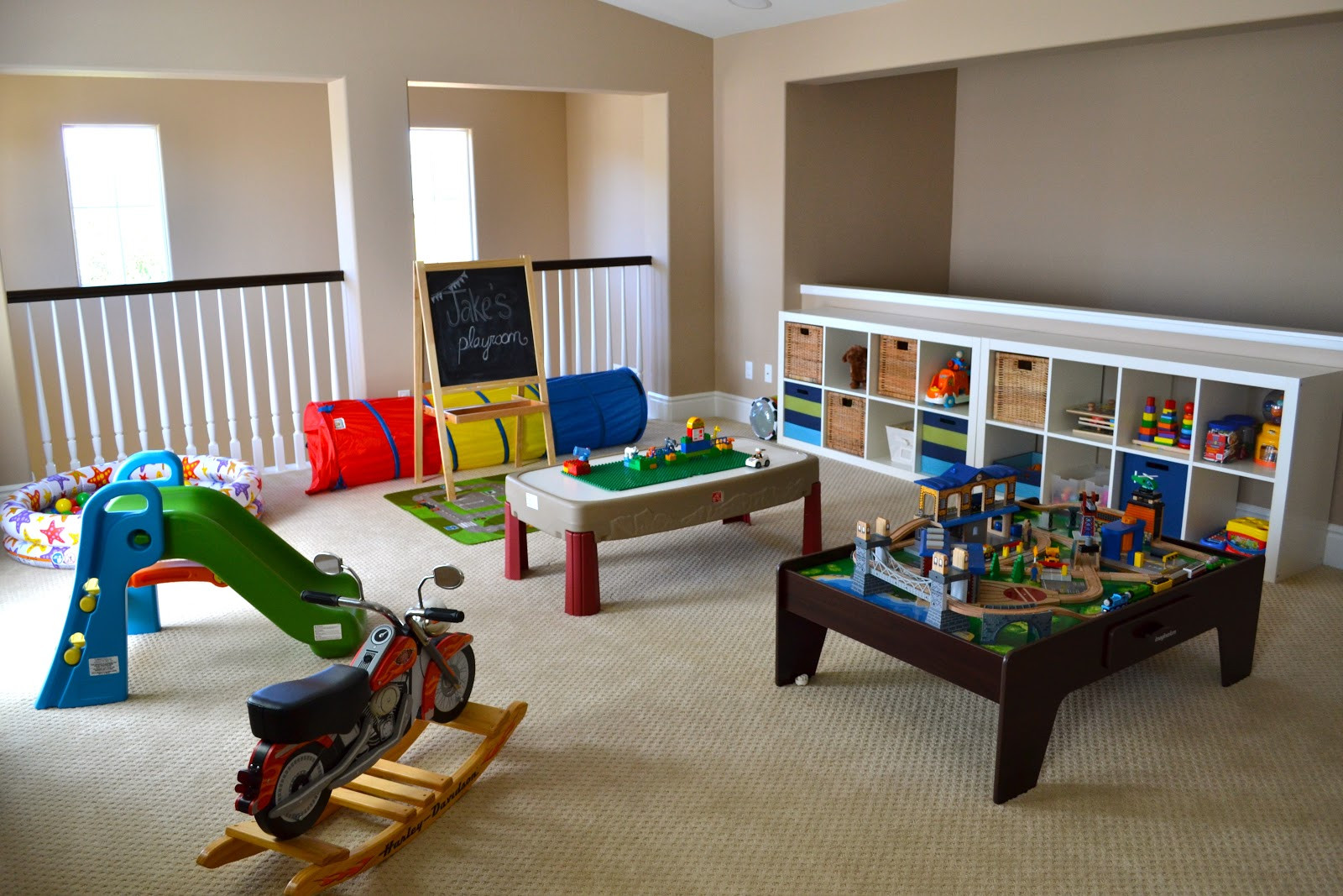Kids Games Room Ideas  Playroom Tour With Lots of DIY Ideas • Color Made Happy