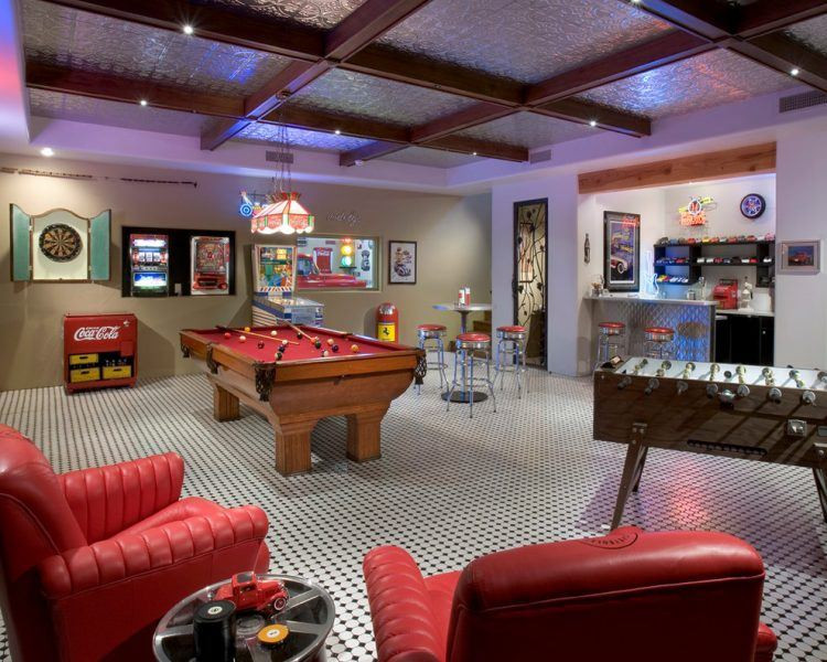 Kids Games Room Ideas  20 The Coolest Home Game Room Ideas