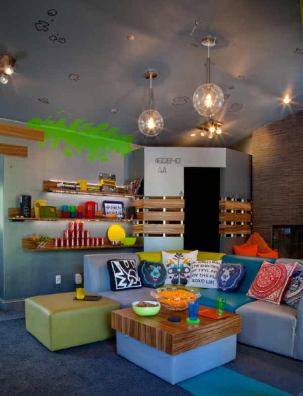 Kids Games Room Ideas  7 Cool Video Games Themed Room For Kids