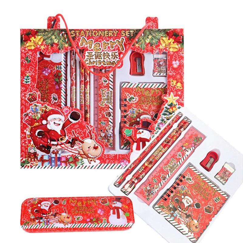 Kids Gift Sets  1 pcs Christmas Stationery Set Kids Gift Box Children