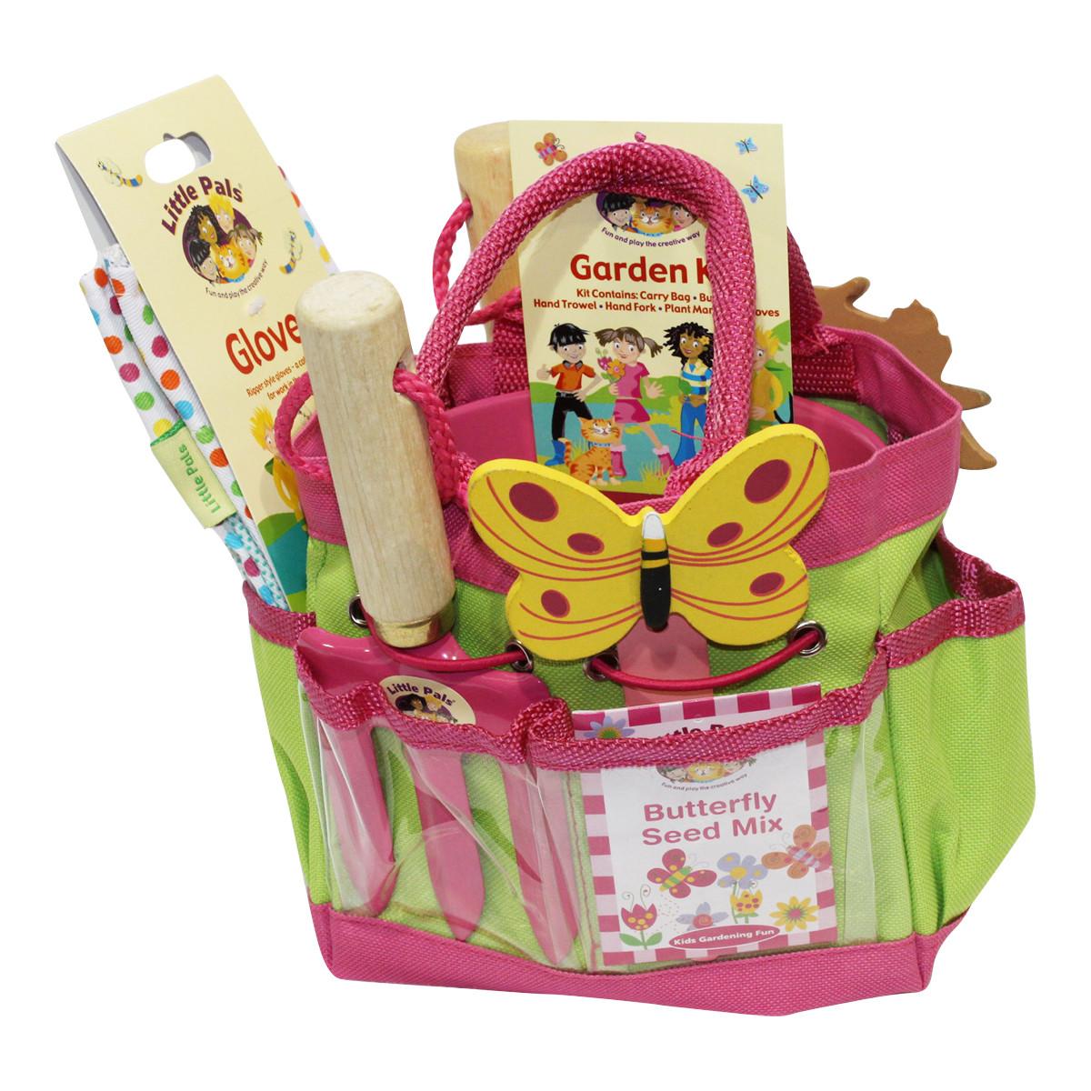 Kids Gift Sets  Childrens Gardening Set Pink