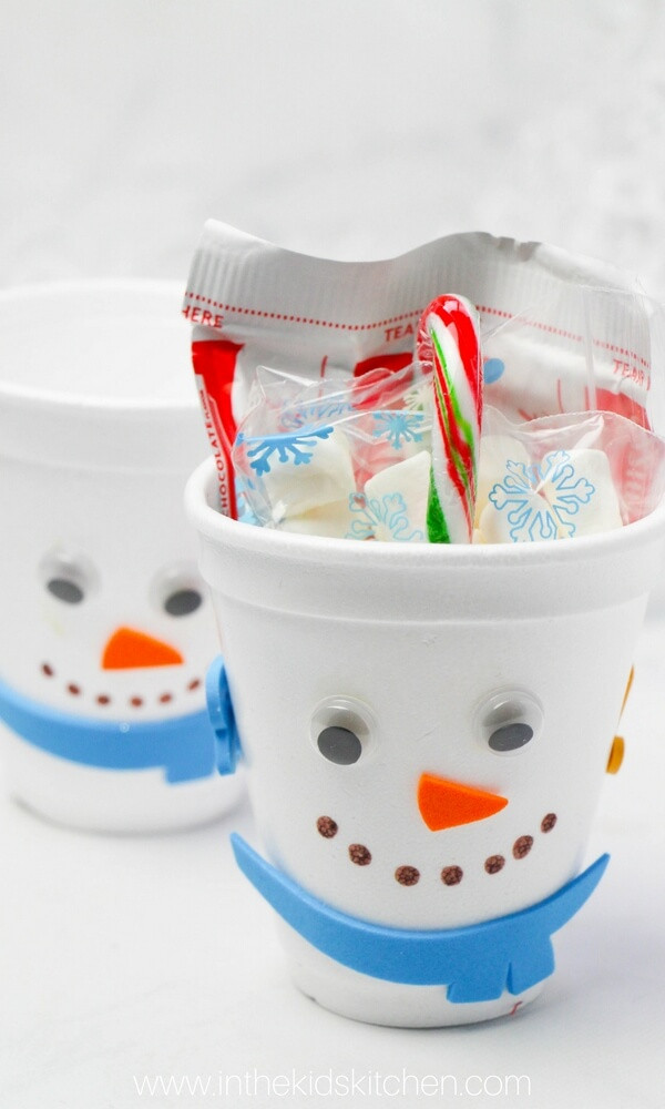 Kids Gift Sets  Snowman Hot Chocolate Gift Set for Kids In the Kids Kitchen