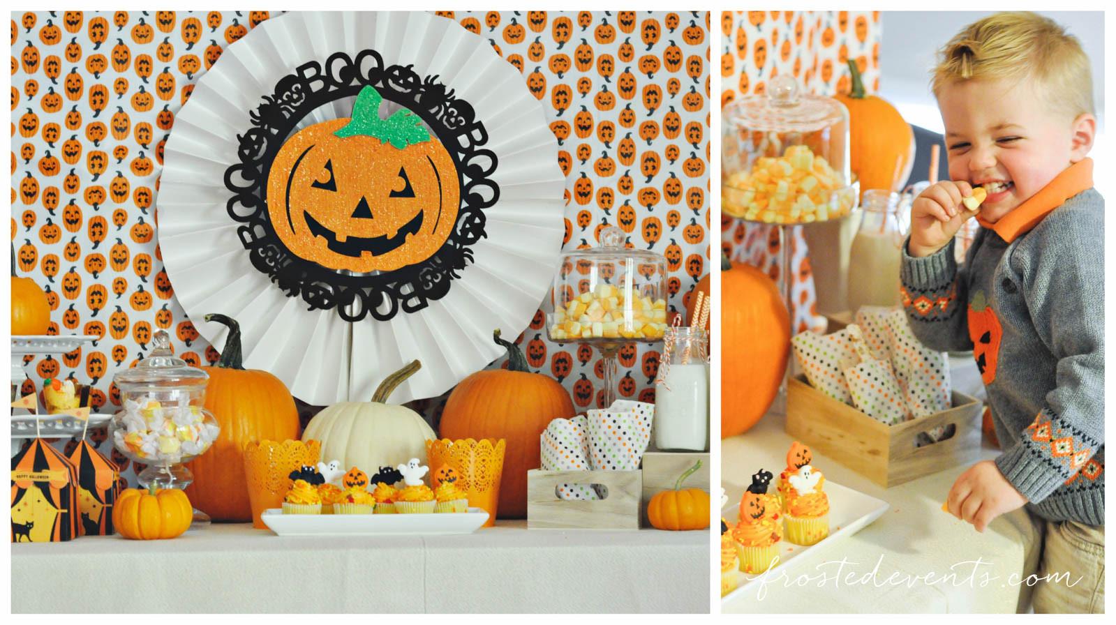 Kids Halloween Party Ideas  Halloween Ideas for Kids Cute Pumpkin Party