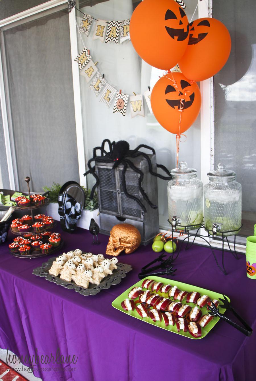 Kids Halloween Party Ideas  Kids Halloween Party Ideas Honeybear Lane