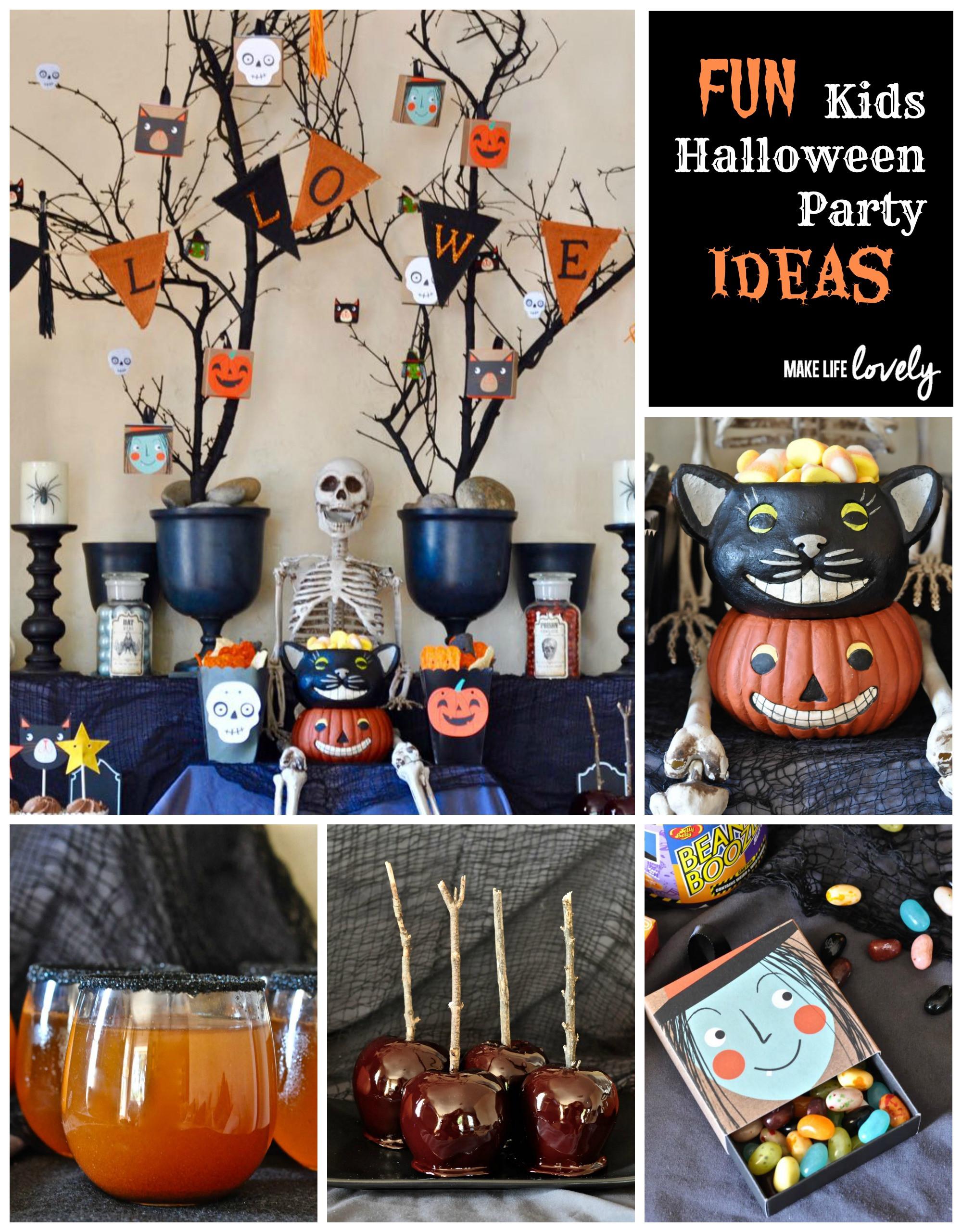 Kids Halloween Party Ideas  kids Halloween party