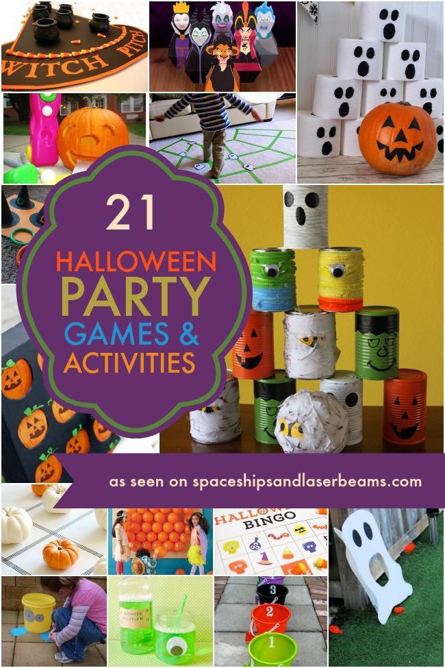 Kids Halloween Party Ideas  21 Halloween Games Ideas & Activities Spaceships and