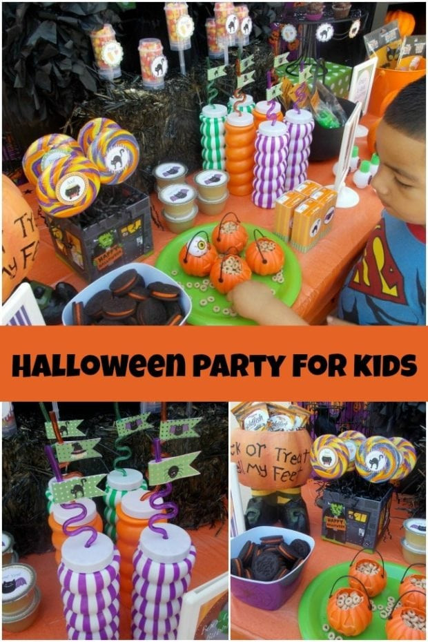 Kids Halloween Party Ideas  A Halloween Party Perfect for Younger Kids