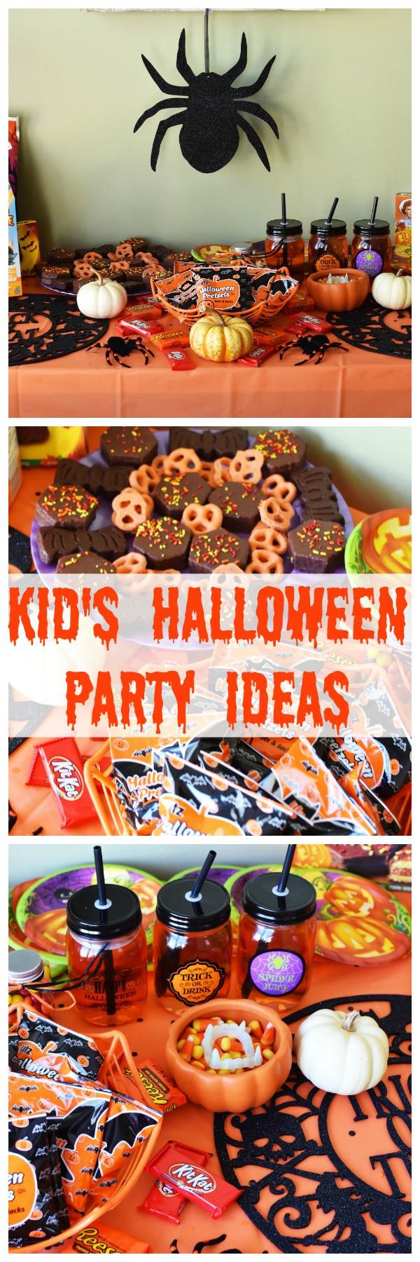 Kids Halloween Party Ideas  Kid s Halloween Party Ideas