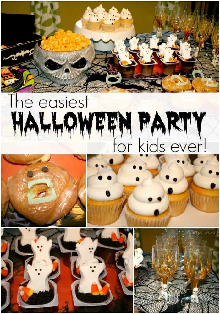 Kids Halloween Party Ideas  Easiest Kids Halloween Party Ever A Turtle s Life for Me