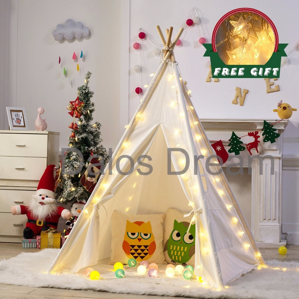 Kids Indoor Teepee  DalosDream Indian Teepee For Kids Children Toy Tents
