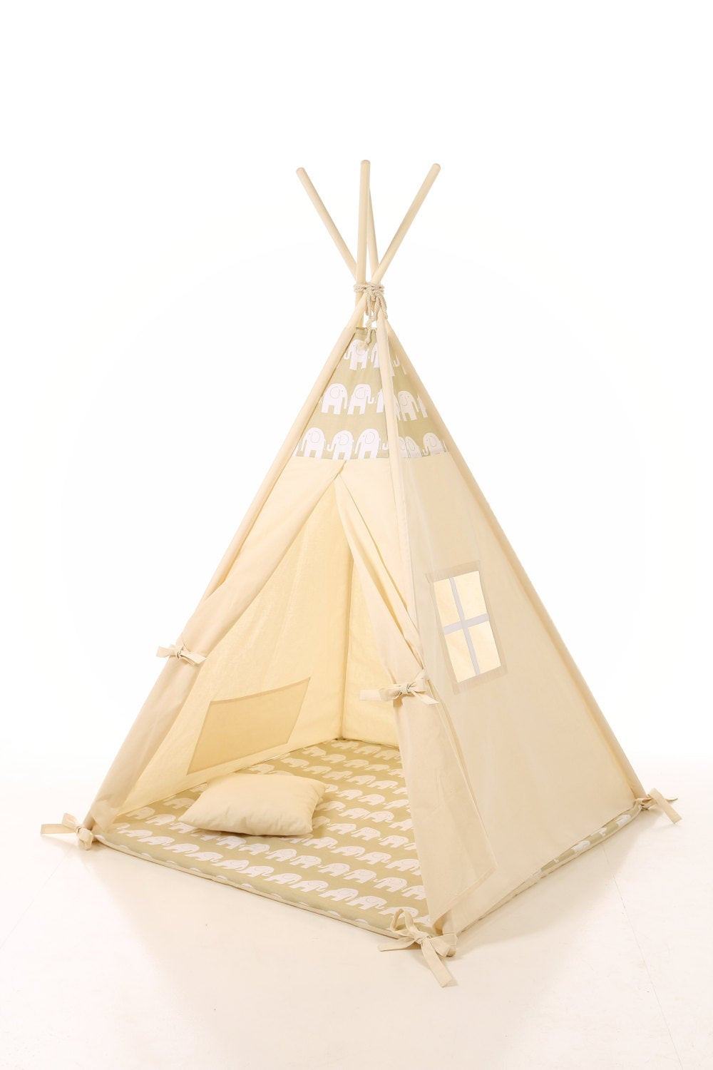Kids Indoor Teepee  Kids Teepee Tent Plain cotton indoor children s tipi