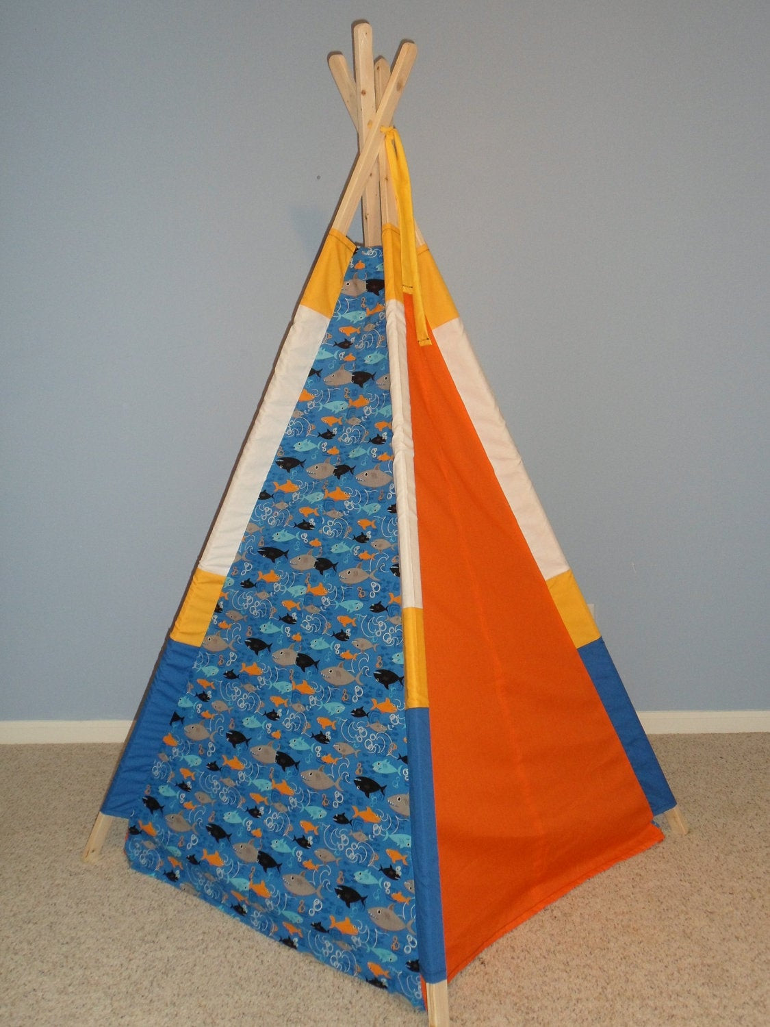 Kids Indoor Teepee  Kids Teepee Play Tent Tipi Indoor Tent Childrens Teepee