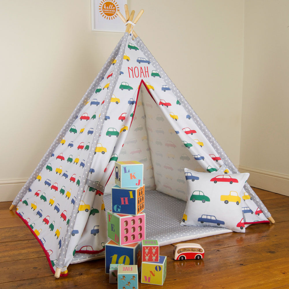 Kids Indoor Teepee  Personalised Children s Kids Teepee UK Wigwam Indoor Tipi