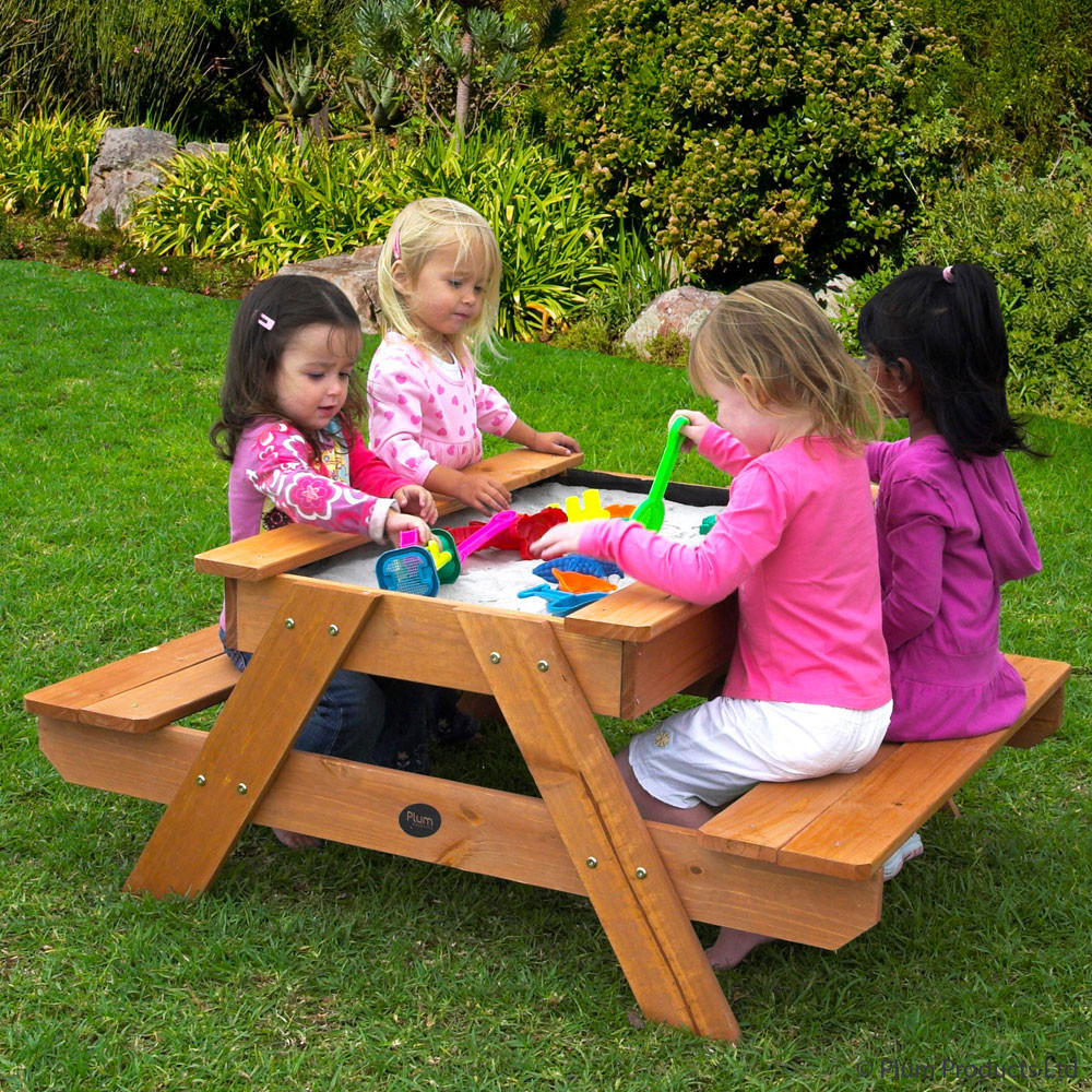 Kids Outdoor Table And Bench  Top 10 best toddler picnic table for some outdoor picnic