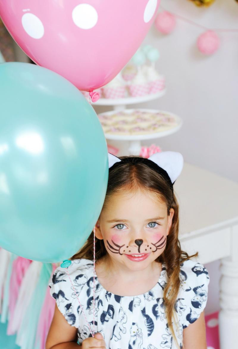 Kids Party Face Painting  15 Face Painting Kids Birthday Party Ideas on Love the Day