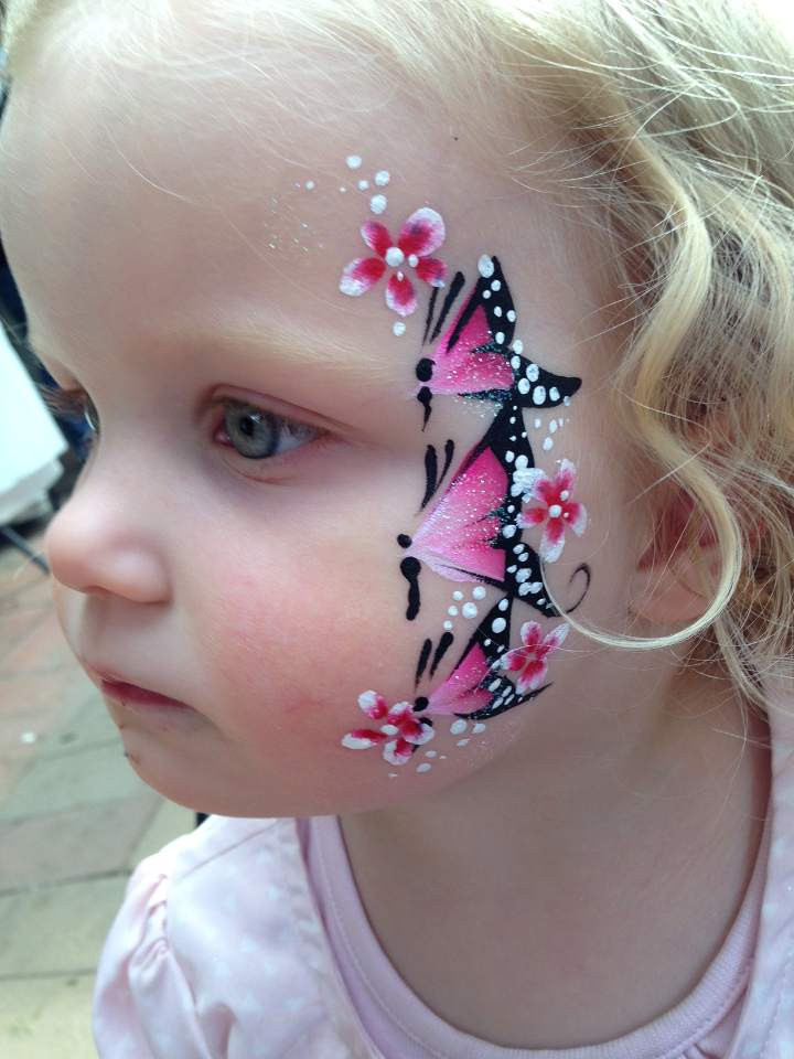 Kids Party Face Painting  Kids Face Painting Geelong All For Kids Party Hire