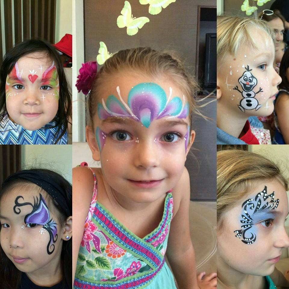 Kids Party Face Painting  Facepainting For Kids Birthday Party