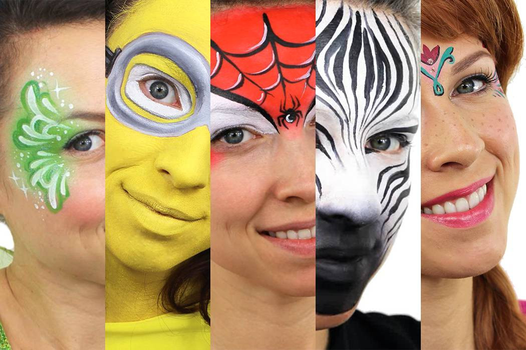 Kids Party Face Painting  Easy Face Painting Ideas for Kids Parties