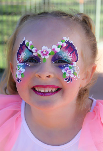Kids Party Face Painting  Kids Party Entertainment – Ruby Rainbow