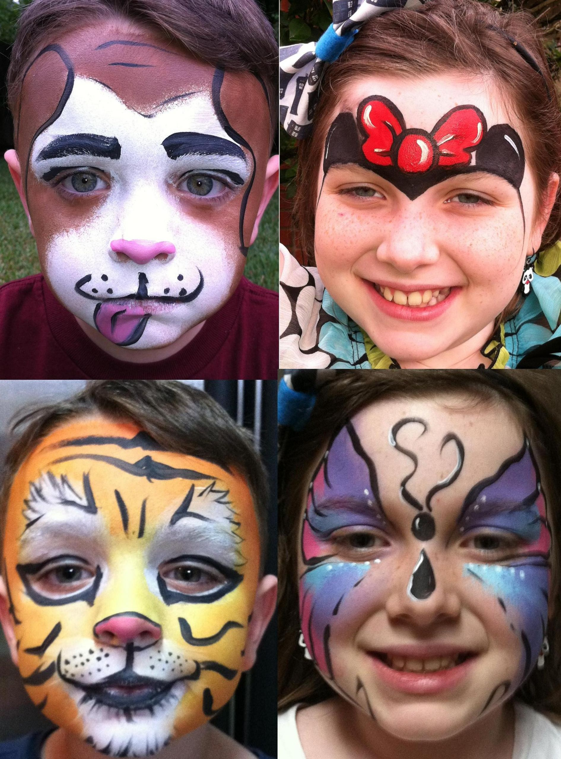 Kids Party Face Painting  pare our Prices with the other panies in Houston Texas
