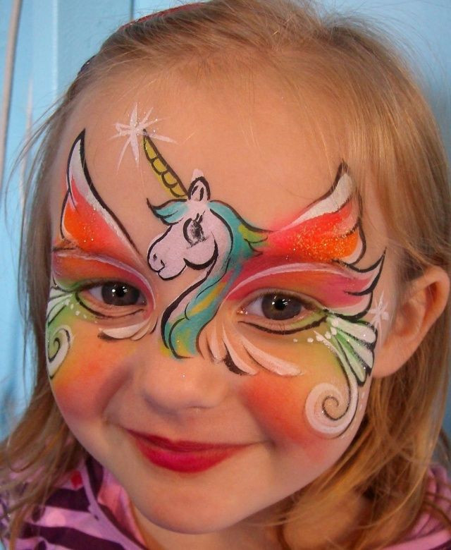 Kids Party Face Painting  20 Amazing Unicorn Birthday Party Ideas for Kids