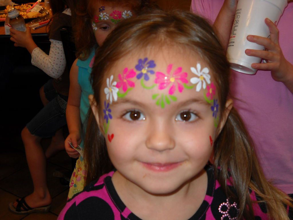 Kids Party Face Painting  Our goal is to make certain every child has a great time