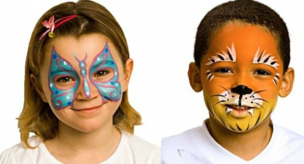 Kids Party Face Painting  Birthday party success