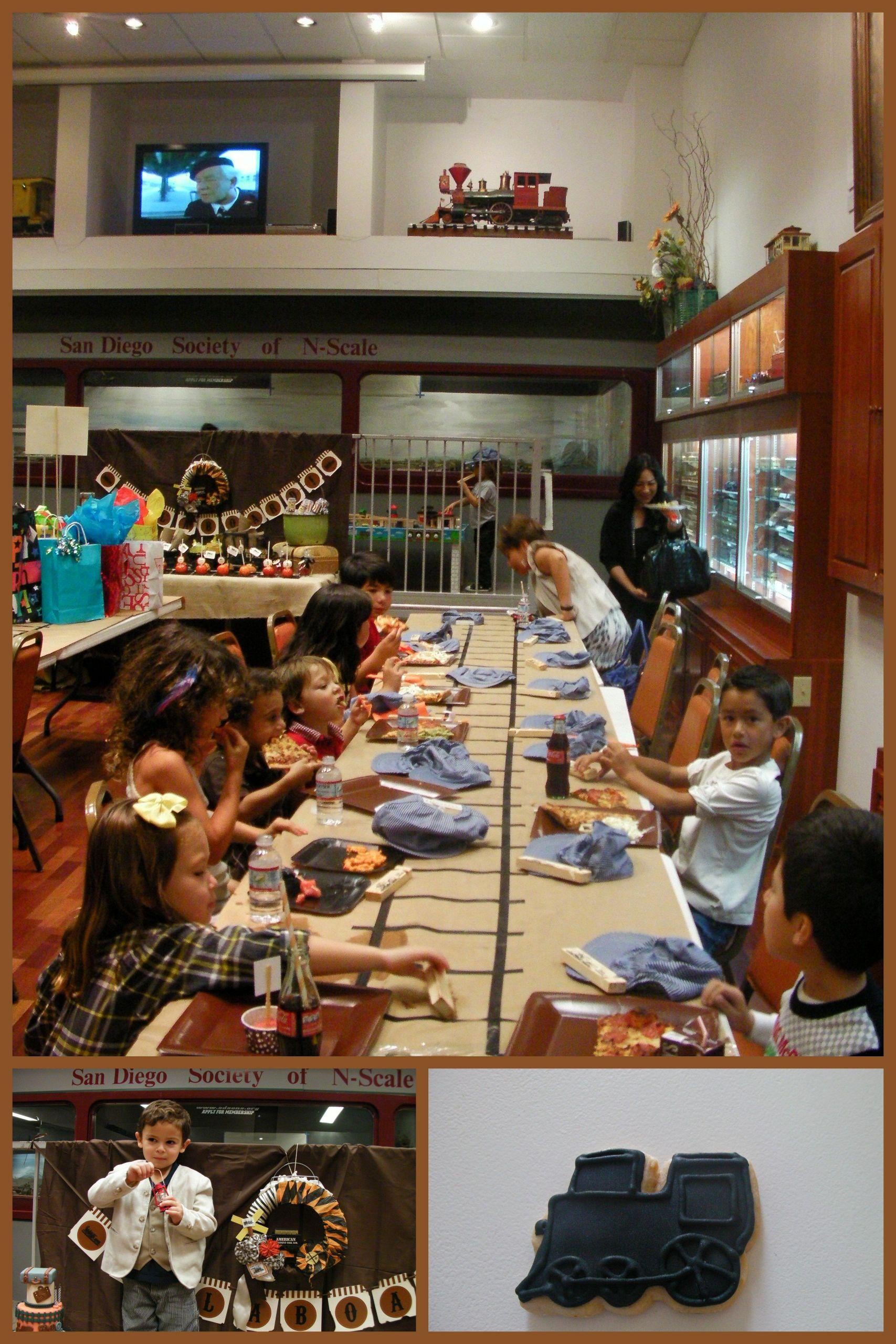 Kids Party Places San Diego  Party Venue Model Railroad Museum on Balboa Park San