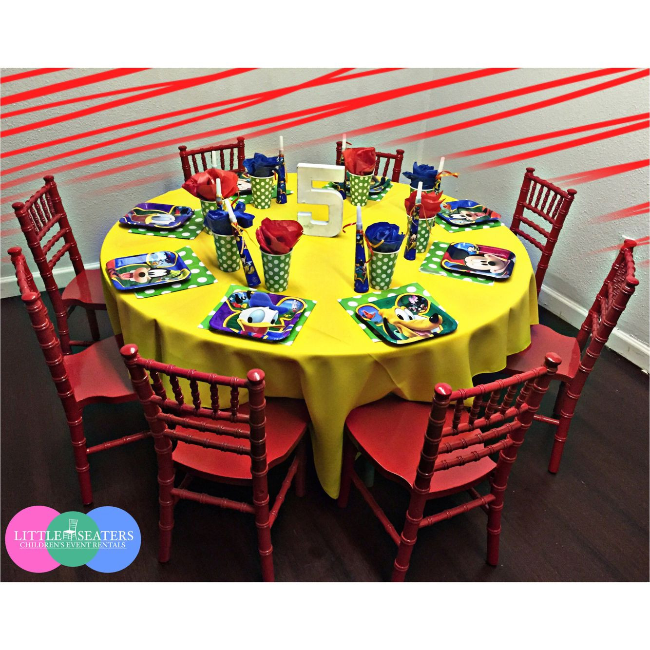 Kids Party Rental Houston  Mickey & Friends Theme Party 😍😍😍😍 Rental items includes