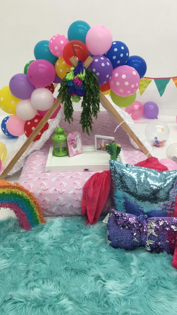 Kids Party Rental Houston  Sweet Dreams Teepee Sleepover Party Rentals Houston