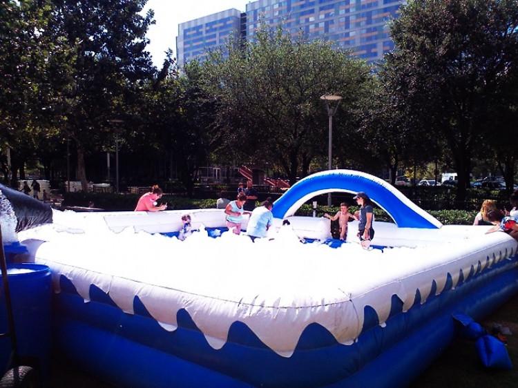 Kids Party Rental Houston  Foam Party Pit Houston Party Rental