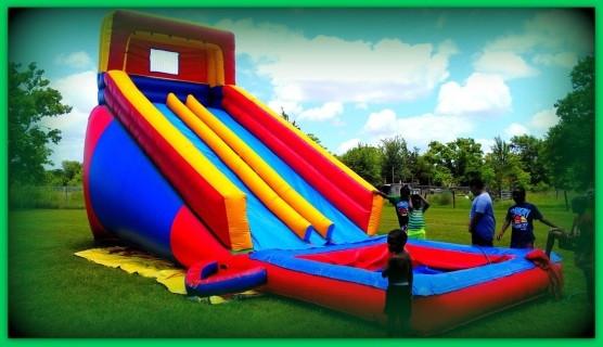 Kids Party Rental Houston  Water Slide Rentals Houston