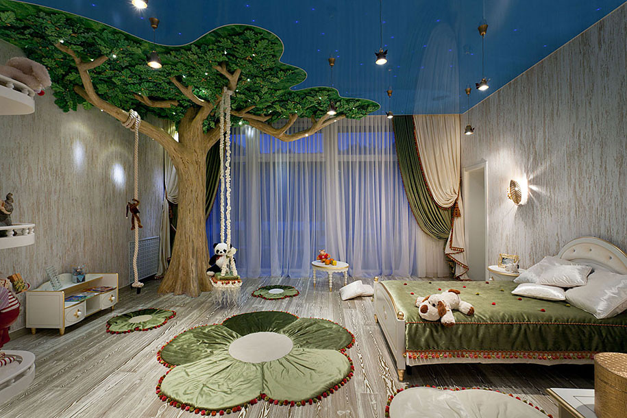 Kids Room Interior  22 The Most Magical Bedroom Interiors For Kids