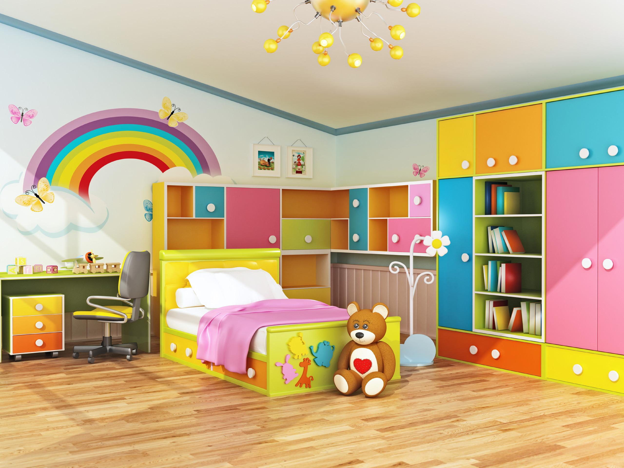Kids Room Interior  Plan Ahead When Decorating Kids Bedrooms