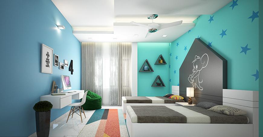 Kids Room Interior  Kids Bedroom Interior Design Ideas A Bud
