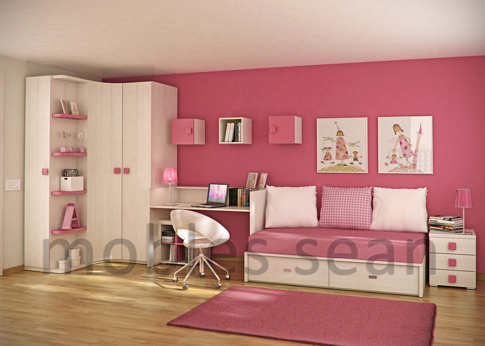 Kids Room Interior  Space Saving Designs for Small Kids Rooms