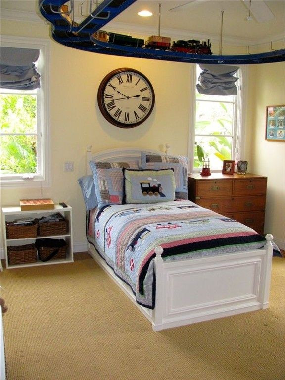 Kids Train Decor  pinterest kid bedroom designs