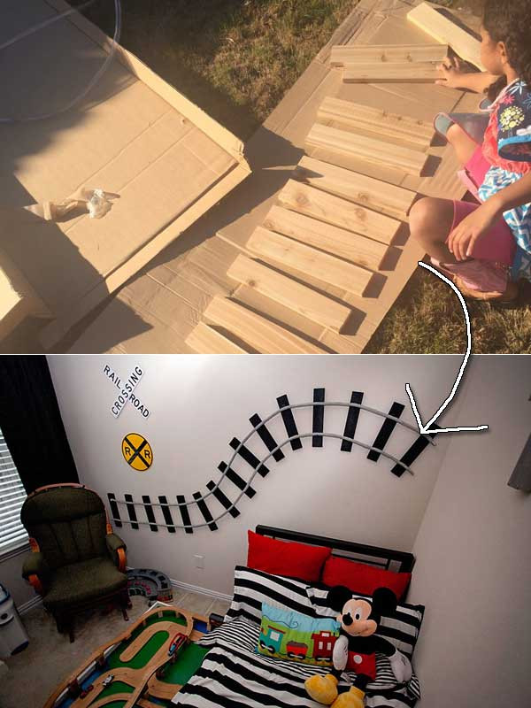 Kids Train Decor  10 Genius Decorations Inspired by Train or Train Track