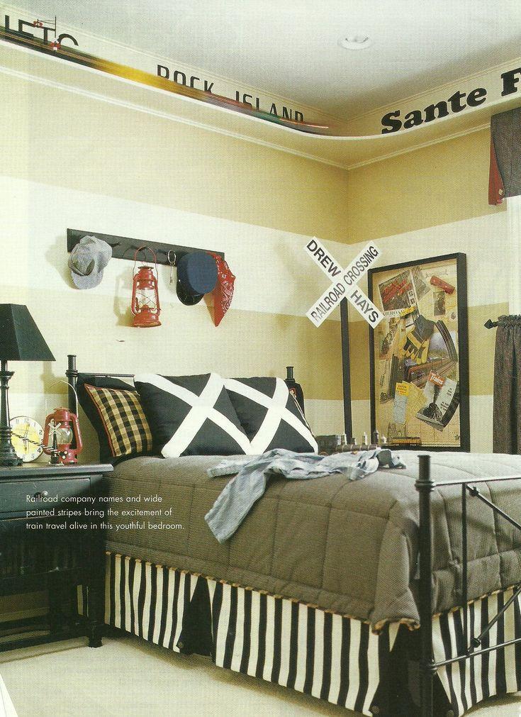 Kids Train Decor  Best 25 Train bedroom ideas on Pinterest